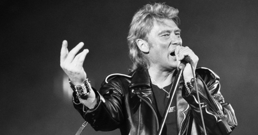 Addio a Johnny Hallyday, l´Elvis francese